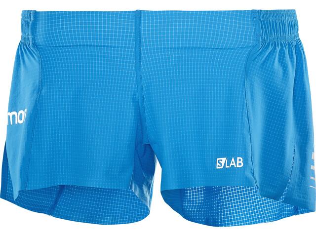Salomon W's S/Lab 3 Shorts transcend blue